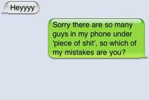iphone funnies / by Ashley Blanco