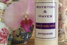 Body  and pamper products