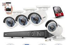 4MP Security Camera System / A state-of-art 4-megapixel surveillance system presents spectacular monitoring videos you've ever experienced. And thanks to the P2P technology, you can easily enjoy the smooth and crisp videos whenever and wherever you want via your smartphone, tablet or PC as long as long as network is available around.
