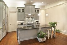 Gray Kitchens