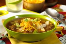Soups and Chilis / Fall is here! Warm up with a bowl of one of these hearty soups and chilis.