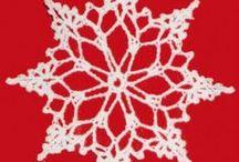 Lumihiutaleita Snow flakes