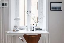 Pracovny / Home office / Domácí pracovny a pracovní koutky  Home decor, design and interiors When you need a home office