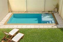 Escaleras en piscinas