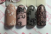 Line art....Nail designs!