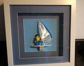 Lego frames / about me framing my lego models and minifigures
