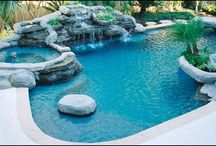 Swimming pools that I love / Feel the cold water in beautiful places