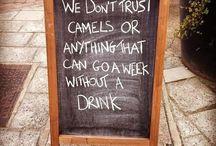 funny pub chalkboards