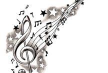 Music stuff / by Jennifer Roberts