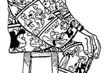 Mafald-Arte / Una gran creación de Quino!