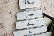 wood craft projects / by Miranda Maynard-Wall