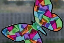 kids stained glass