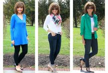 """Stitch Fix Style Inspiration / My style - in and """"out"""" of my comfort zone.  :)"""