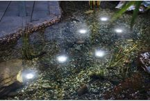 Prodotti ad energia solare per fontane e stagni