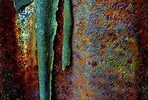patina & rust & shabby