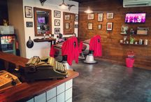 the boots barber shop / interior