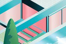 illustration isomatric