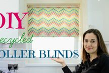 DIY Recycled Old Blinds