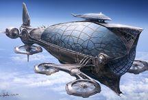 landing airship