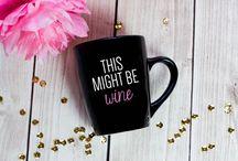 Mugs to Decorate / DIY mug designs