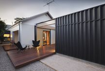 shipping container home extension