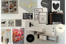 Interior decoration / A collection of moodboards and photos of my interior decoration projects. #DutchI!Design2014