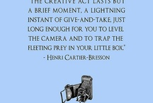 Photography Gadgets & Quotes / by Jeanine Colón