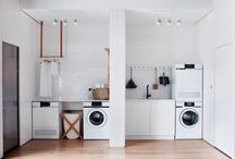 L A U N D R Y / Interior Trend Watch Cool + Chic LAUNDRIES