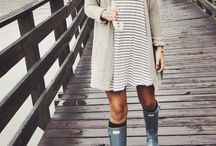 April Showers Bring May Flowers / Outfit ideas for those rainy days