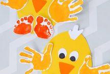 Pynt med hænder og fødder