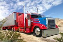 Freightliner Truck Gallery / Our collection of Freightliner trucks, from cabovers to Cascadias! / by Smart Trucking