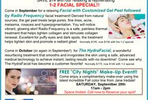 Monthly Specials! / See what's new at Coastal Skin Care Day Spa!