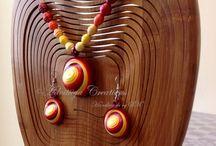 Paper jewellery / Hand made