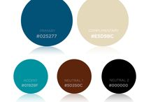 Branding Color Schemes / Choose your brand colors from this collection of fresh, modern and timeless color schemes!