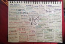Revision tips and tricks / So revision is that little bit easier and bearable