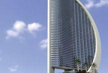 Ultramodern épület. / 21. Század építészete.