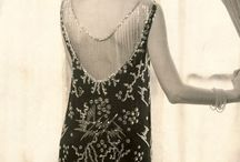 Vintage jewelry style. / How the very fabulous wore their jewels long ago.