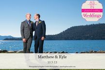 Featured Real Wedding: Matthew & Kyle {from the Summer/Fall 2014 Issue of Real Weddings Magazine} / Matthew & Kyle-Featured Real Wedding from the Summer/Fall 2014 issue of Real Weddings Magazine, www.realweddingsmag.com. Photos by and copyright Bogdan Condor Photography, www.BogdanCondor.com; Day-of Coordinator: Blue Sky Events, www.blueskyevents.biz. See entire post here: http://www.realweddingsmag.com/featured-real-wedding-matthew-kyle-from-the-summerfall-2014-issue-of-real-weddings-magazine