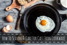 cast iron cookware love. / by cindylitwin