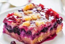 blueberry delight / by Karen Roerdink