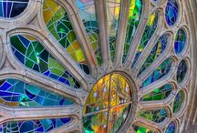 "Architects: Antonini Gaudi / ""Those who look for the laws of Nature as a support for their new works collaborate with the creator.-- Antonio Gaudi.  I am a HUGE fan of this man's vision and work.  / by Robin Maker"
