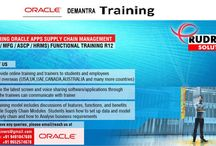 Oracle Apps Demantra online Training / Rudra IT Solutions is one of the Promote leading IT Services and corporate training solutions along with IT online training conservatory, with latest Industry  offering technology.   Oracle Apps Demantra online Training in Hyderabad,USA, UK, Australia, New Zealand, UAE, Saudi Arabia, India, Pakistan, Singapore, Kuwait   http://www.training.rudraitsolutions.com/oracle-demantra.html