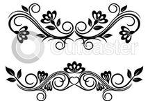 Ornamenty, ramki