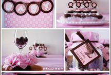 Babyshower for Kaija / Pink and Brown / by Erica Christine