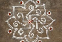 Kolam and Rangoli