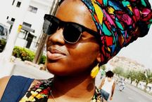 Hair wrap African style / Hair wrap