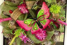 Virágkötés, lakásdekor