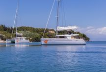 Sailing in the Ionian Sea! / The best way to explore Greece and the Ionian Islands is to book a Catamaran! Just choose a date, contact us and we will create the best sailing trip for you!  Bareboat or Crewed , you choose !