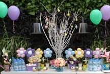 Easter Birthday / Easter and Spring themed birthday party for children.