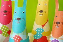 Easter Bunnies crafts / Διάφορες κατασκευές για πασχαλινά λαγουδάκια!!